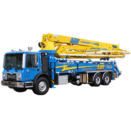 41 meter roll fold boom pumps