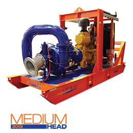 Construction medium head Pumps MH300i