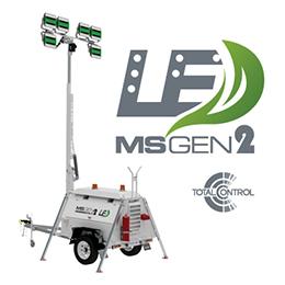 Light Towers LED Lighting GEN2 MSLED168K-9