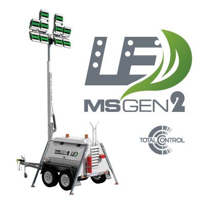 Light Towers LED Lighting GEN2 MSLED280K-9