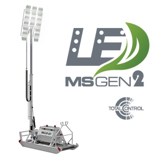 Lighting towers superskids GEN2 SSLED504K-12