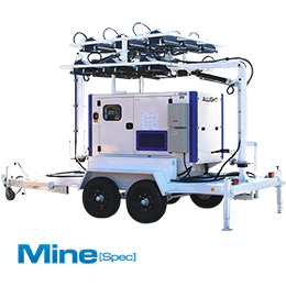 Mobile Lighting Towers MSL24K-7