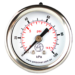 Pressure Gauge General Purpose 40mm