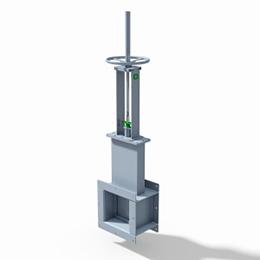 guillotine damper
