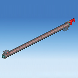 Complete pipe screw conveyors