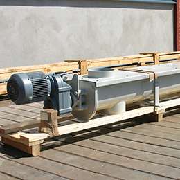 Complete trough screw conveyors
