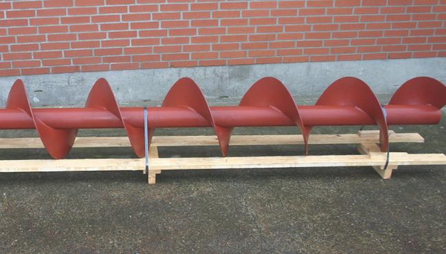Standard|Screw Conveyor|with same pitch all around