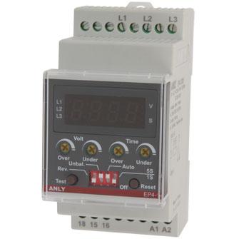 Ep4-1 Multi Function Digital Voltage Relay   Relays & Industrial