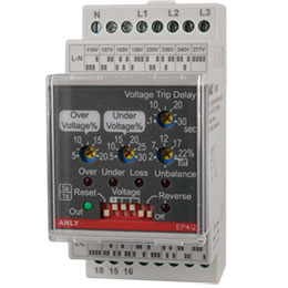 ep4-2 multi function voltage relay