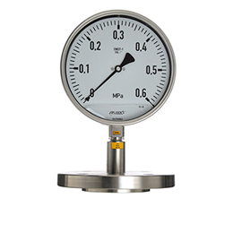 INDUSTRIAL PRESSURE GAUGE WITH DIAPHRAGM SEAL