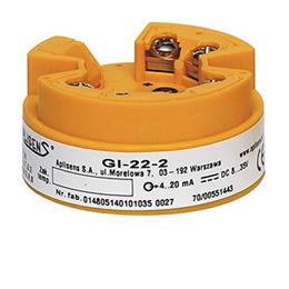 TEMPERATURE TRANSMITTER - GI-22-2 GIX-22-2