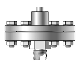 THREADED SEALS WITH LARGE DIAPHRAGM AND SEPARABLE MOUNTING PARTS - S-Comp