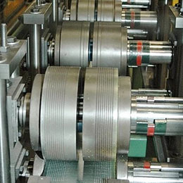light gauge stud-track roll forming lines