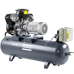 oil-free aluminum piston compressors