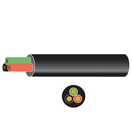pvc 3 core auto cable