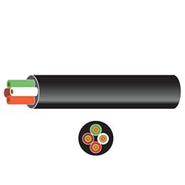 pvc 4 core auto cable