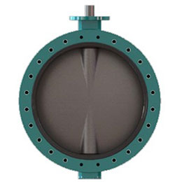 INTERAPP DESPONIA U-SECTION D4 BUTTERFLY VALVE