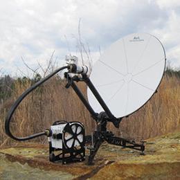 1-0m Manual FlyAway SNG-Mil Antenna