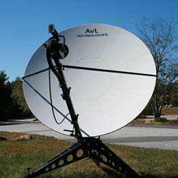 2-4m Manual FlyAway SNG-Mil Antenna