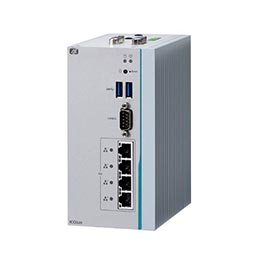 DIN-rail Fanless Box PC ICO320-83C