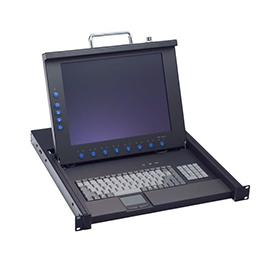 "1U 17"" LCD Rackmount Monitor AX69178"