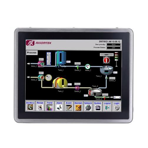 Stainless Touch Panel PC GOT812L(H)-880