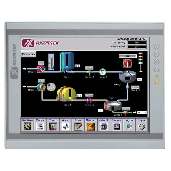 Industrial Touch Panel PC P1177S-881