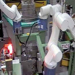 special purpose robot de- moulding