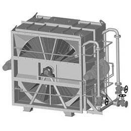 a compact lugat air heater