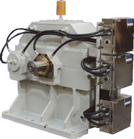 TU 400-turbo gearbox