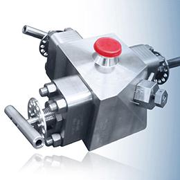 double block - bleed valves