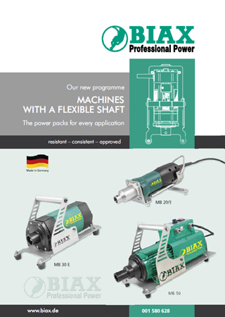 Machines with flexible shafts