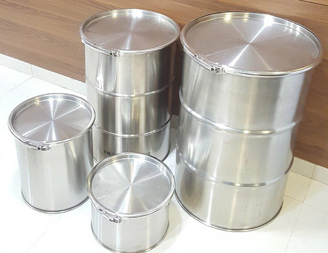 Drums, Containers And Stainless Steel Containers