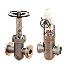 parallel slide gate valves