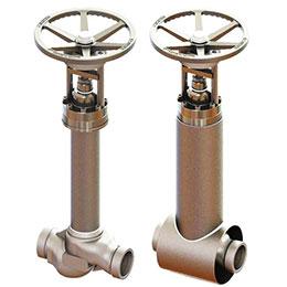 vacuum jacketed valves