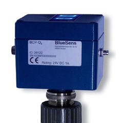 Oxygen analyzer sensors