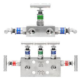 Instumentation manifold valve