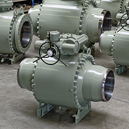 split body ball valves
