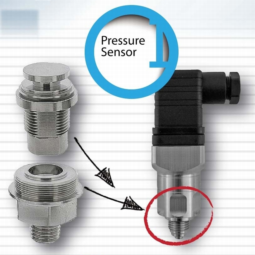 Turned parts for Pressure Sensors