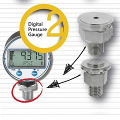 Digital Pressure Gauges - Turned Parts
