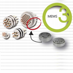 Turned parts for MEMS Sensors