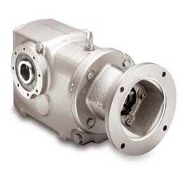 Bevel gear reducer / helical / orthogonal / high-torque 2000R series