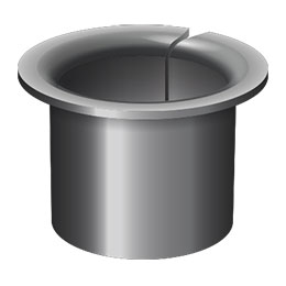 bowmet flanged bearings