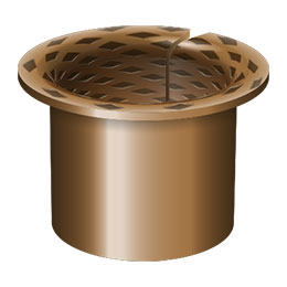 bronze wrapped flanged bearings