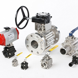 Three-Piece Ball Valve-Triad Series