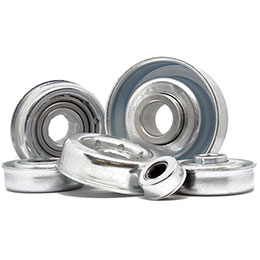 precision bearings-steel housed