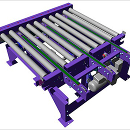 Chain transfer conveyors