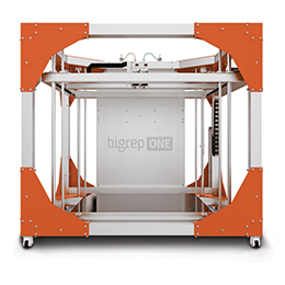 Bigrep one advanced large scale 3d printing