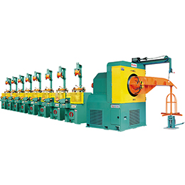 single and double deck type wire drawing machine