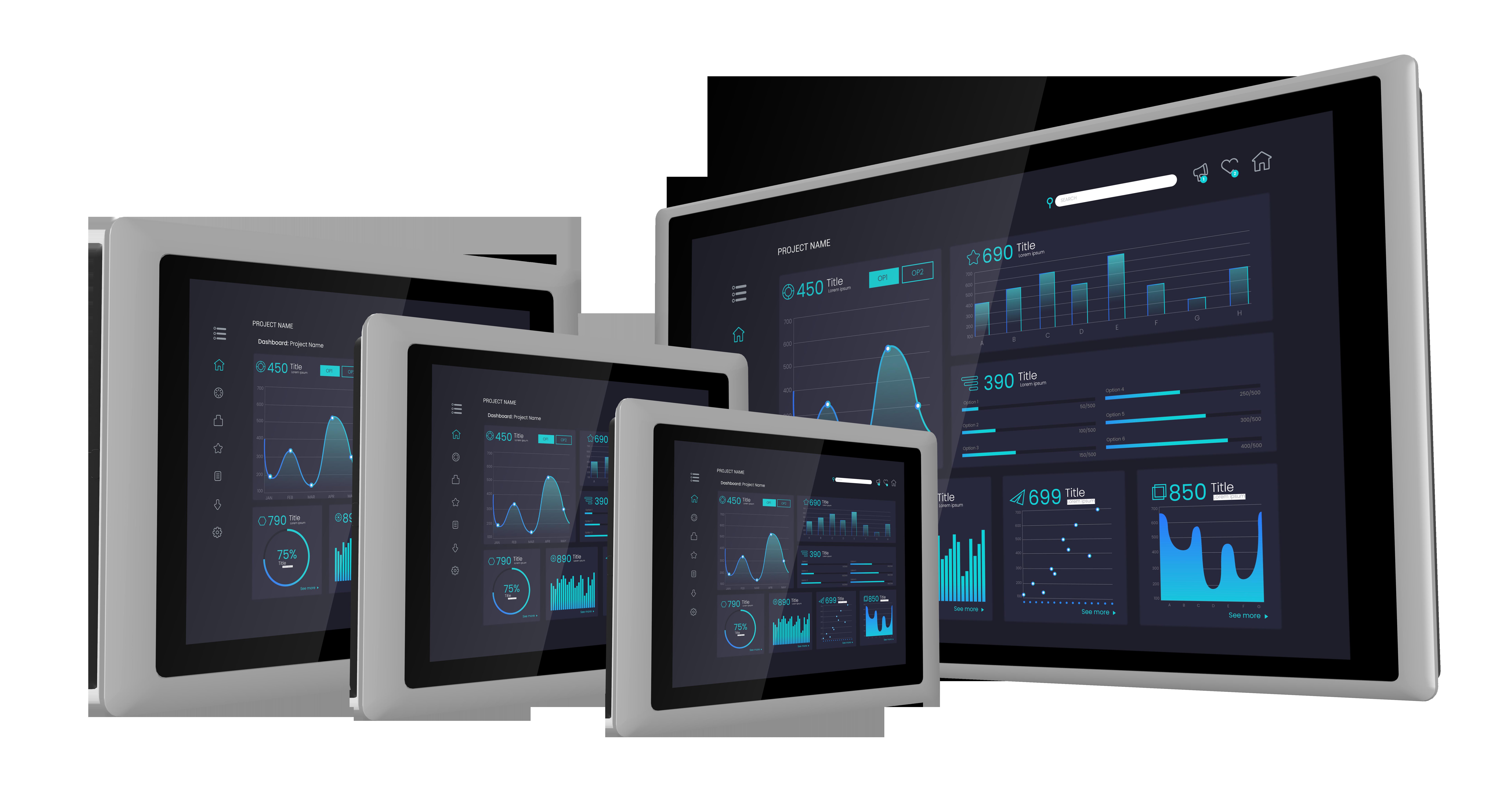 Modular Panel PC & Industrial Monitor